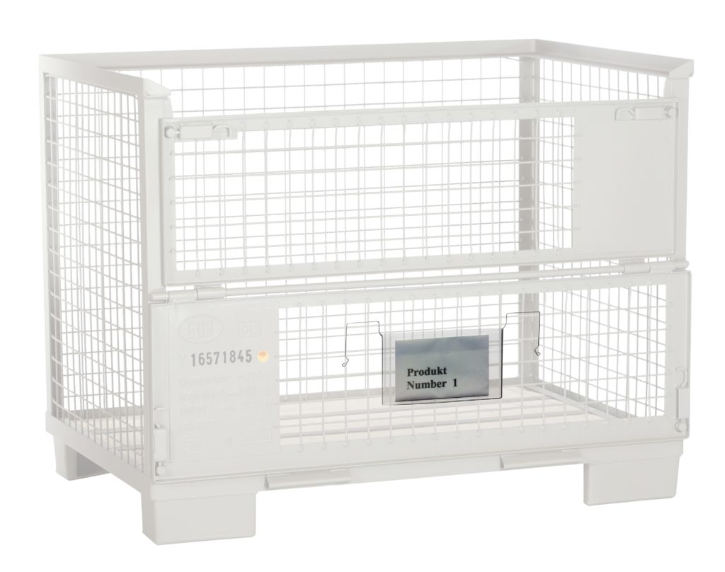 Gitterbox und Drahtbügeltasche A5